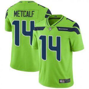 Seahawks D.K. Metcalf Green Jersey
